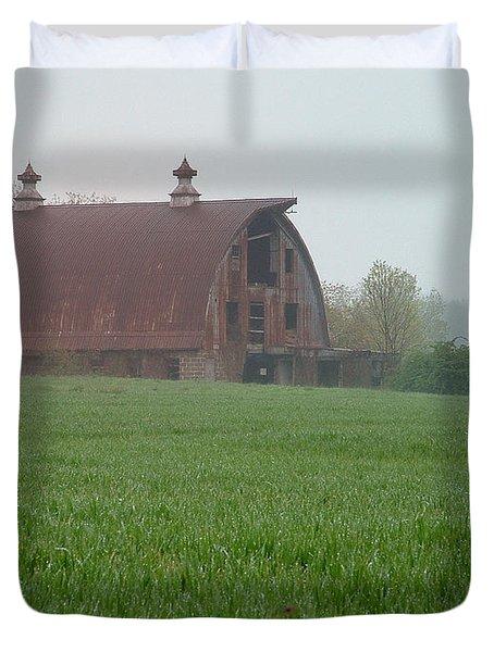 Barn In Summer Duvet Cover