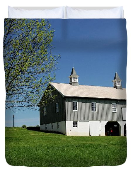 Barn In The Country - Bayonet Farm Duvet Cover