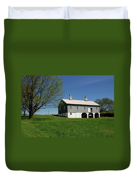 Barn In The Country - Bayonet Farm Duvet Cover
