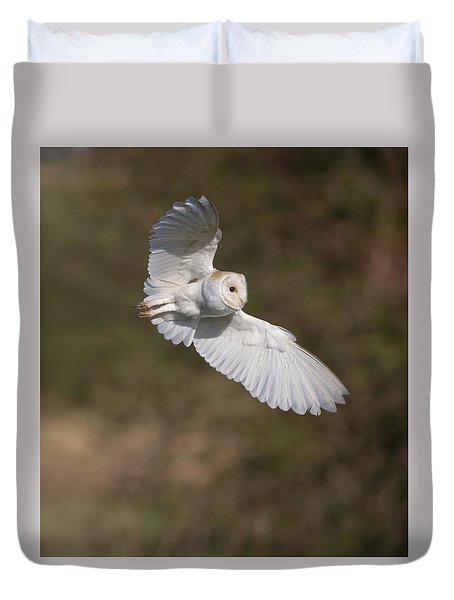 Barn Owl Wings Duvet Cover