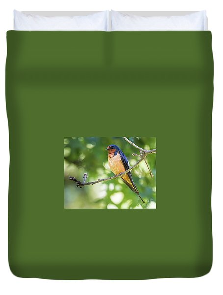 Barn Swallow  Duvet Cover