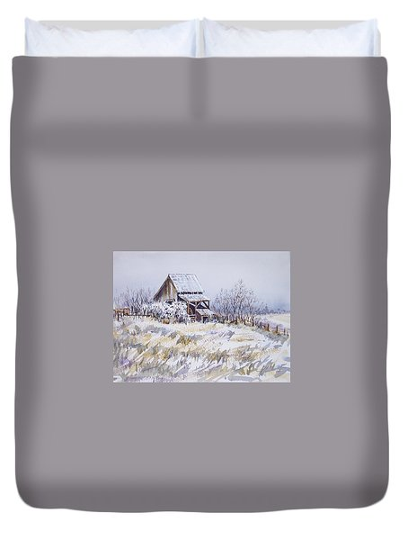 Barn Windmill Road Duvet Cover