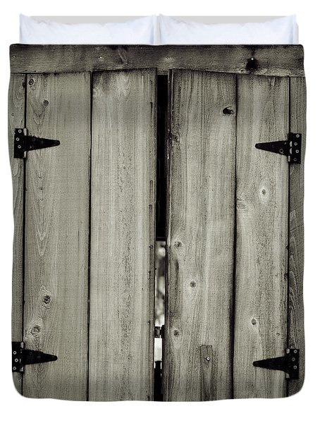 Barn Window Duvet Cover