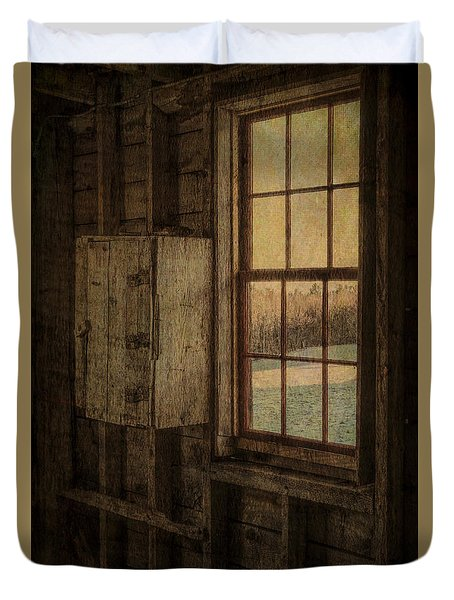 Barn Window Duvet Cover by Tom Singleton