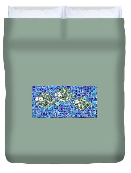 Barnacle Fish Duvet Cover