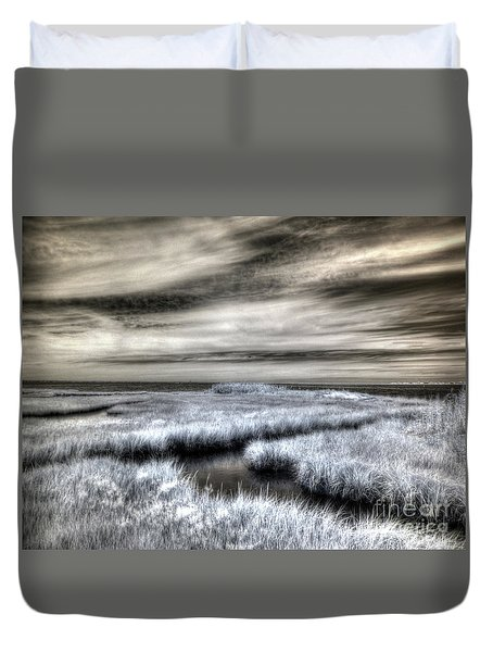 Barnegat Bay New Jersey Duvet Cover
