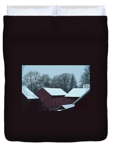 Barnscape Duvet Cover