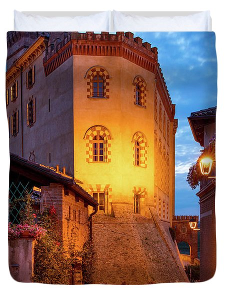 Duvet Cover featuring the photograph Barolo Morning by Brian Jannsen