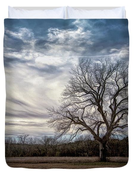 Baron Tree Of Winter Duvet Cover