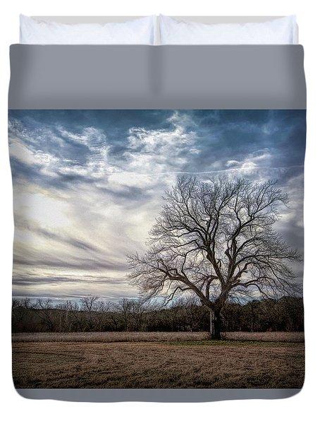 Baron Tree Of Winter Duvet Cover
