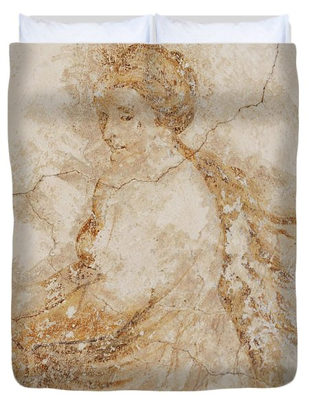 Baroque Mural Painting Duvet Cover by Michal Boubin