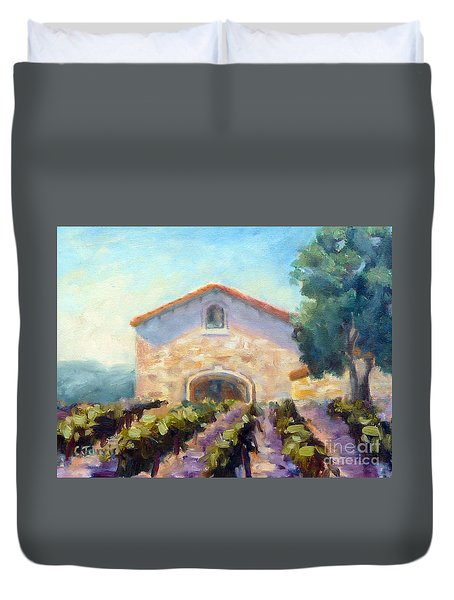 Barrel Room Duvet Cover