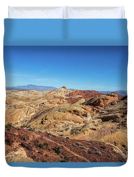 Barren Desert Duvet Cover