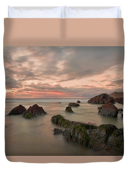 Barricane Beach Duvet Cover