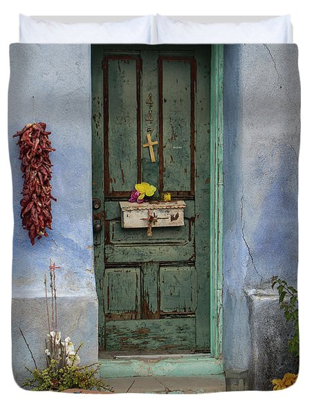Barrio Door Duvet Cover