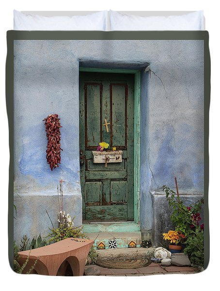 Barrio Door Duvet Cover