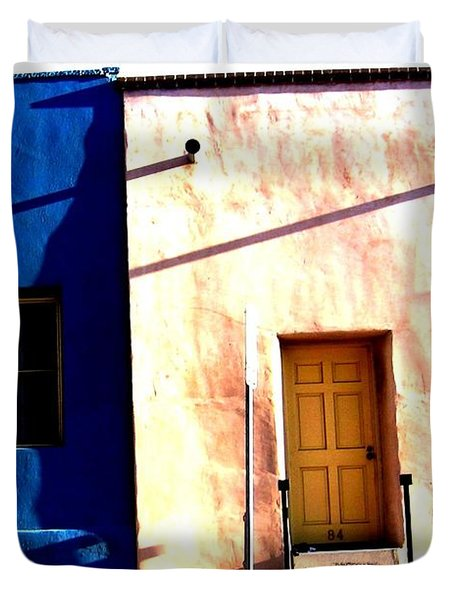 Barrio Viejo 1 Duvet Cover