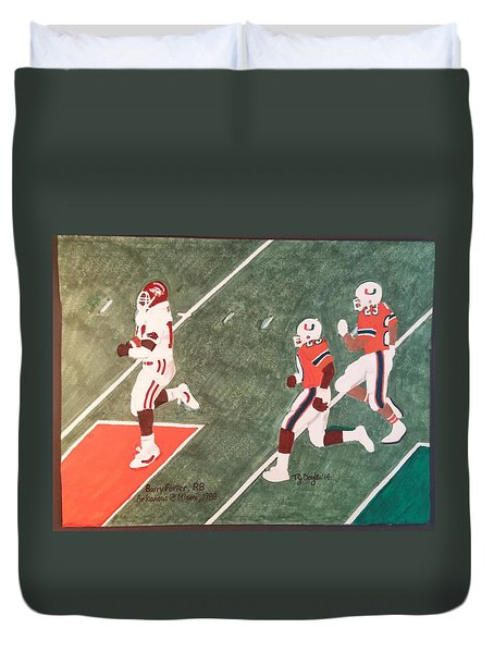 Arkansas V Miami, 1988 Duvet Cover