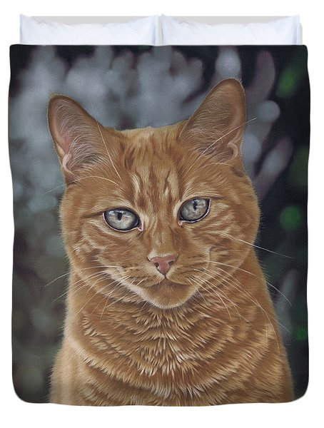 Barry The Cat Duvet Cover