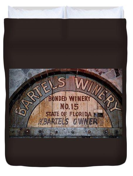 Bartels Winery Duvet Cover