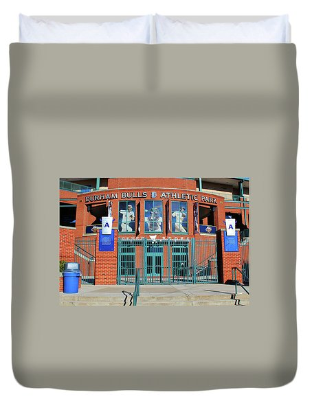 Baseball Stadium Duvet Cover