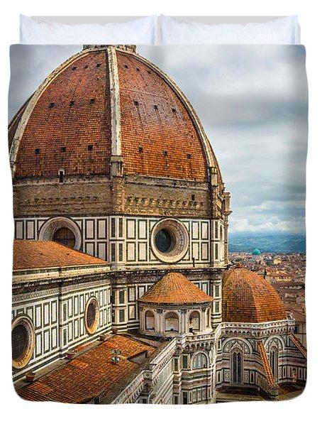Basilica Di Santa Maria Del Fiore Duvet Cover