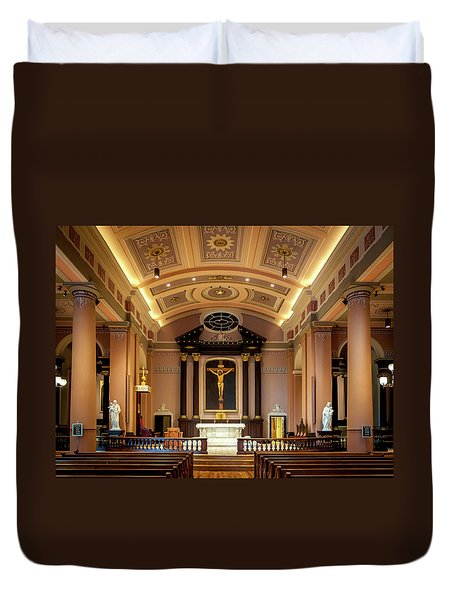 Basilica Of Saint Louis, King Of France Duvet Cover