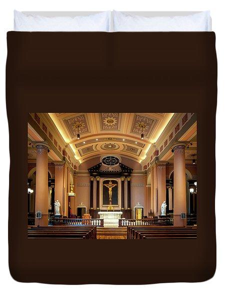 Basilica Of Saint Louis, King Of France Duvet Cover