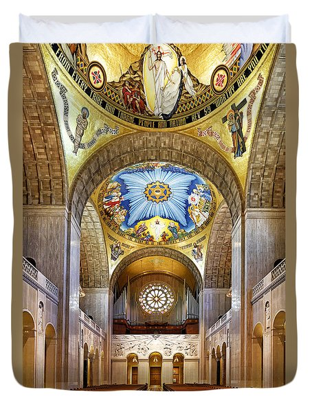 Basilica Of The National Shrine Of The Immaculate Conception - Interior Duvet Cover