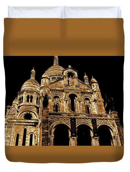 Basilica Of The Sacred Heart Duvet Cover
