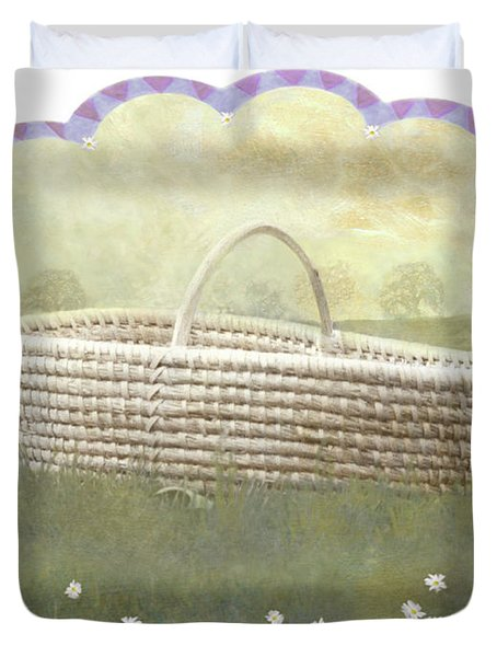 Basket Duvet Cover