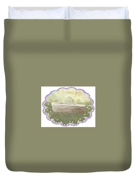 Basket Duvet Cover