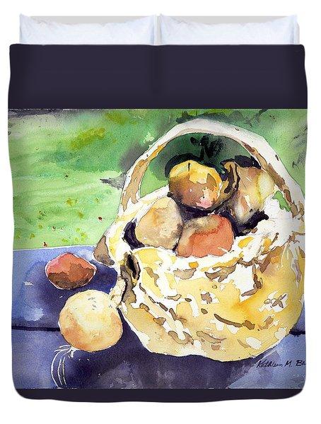 Basket Of Fruit Duvet Cover