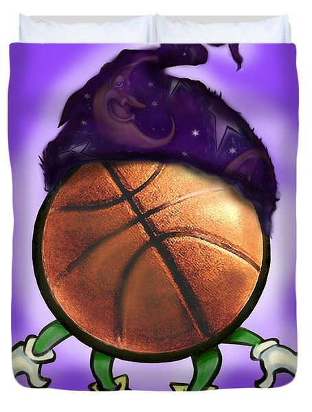 Basketball Wizard Duvet Cover