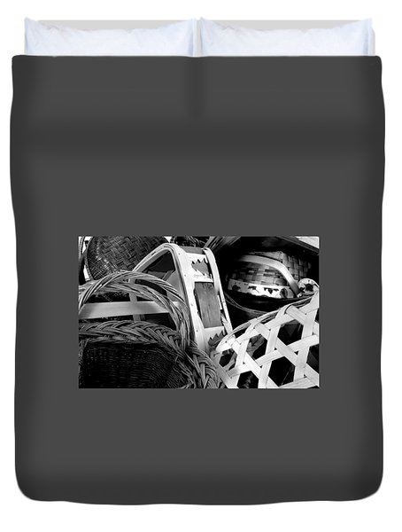 Baskets Duvet Cover