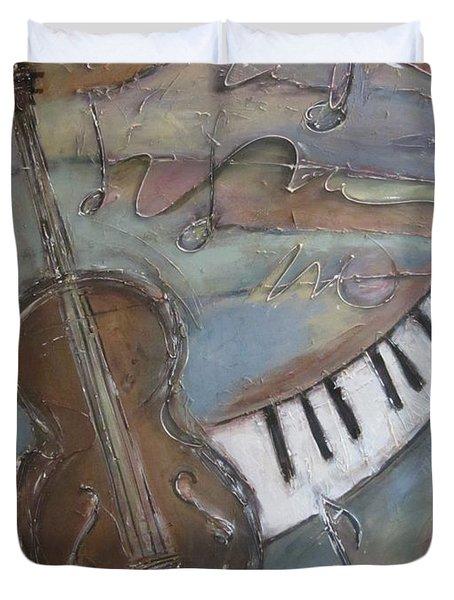 Bass And  Keys Duvet Cover