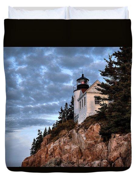 Bass Harbor Light No. 2 - Acadia - Maine Duvet Cover