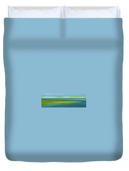 Bass Hole Duvet Cover