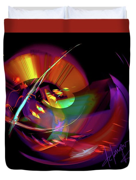 International Bass Station Duvet Cover by DC Langer