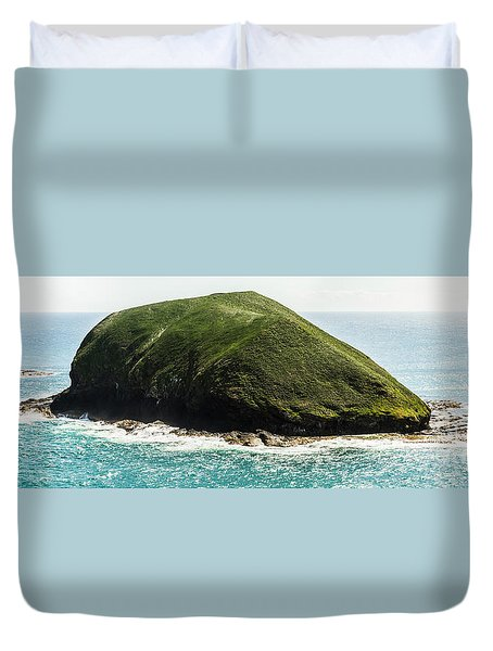 Bass Strait Island Wilderness Duvet Cover