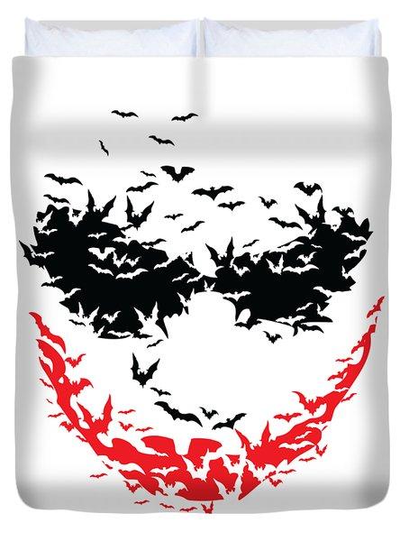 Bat Face Duvet Cover