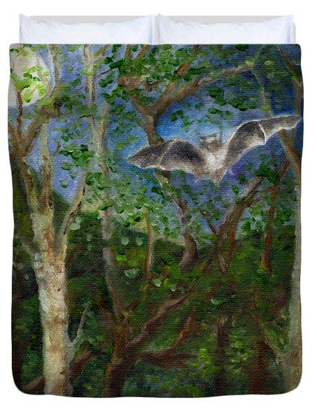 Bat Medicine Duvet Cover