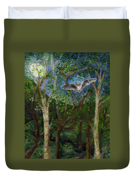 Bat Medicine Duvet Cover