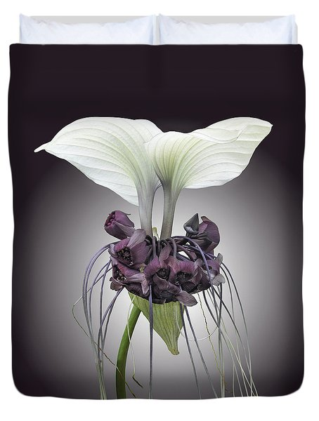 Bat Plant Duvet Cover