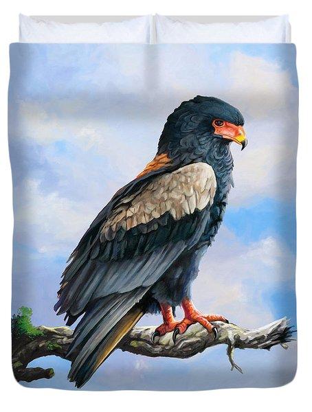 Bateleur Eagle Duvet Cover