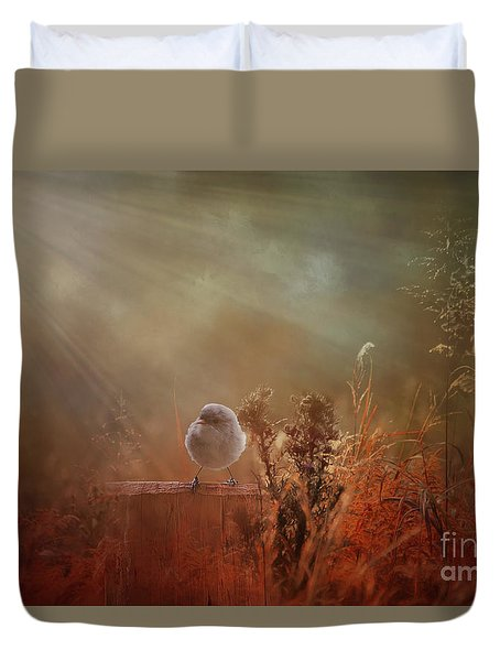 Bathed In Light Duvet Cover