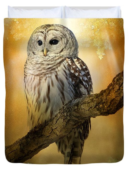 Bathed In Light  Duvet Cover by Heather King