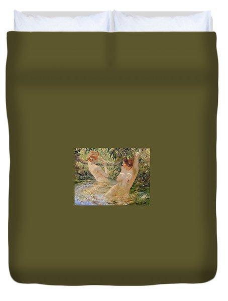 Bathers Duvet Cover