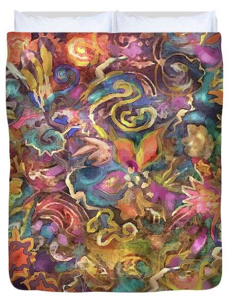 Batik Colorburst Duvet Cover