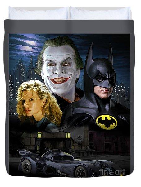 Batman 1989 Duvet Cover